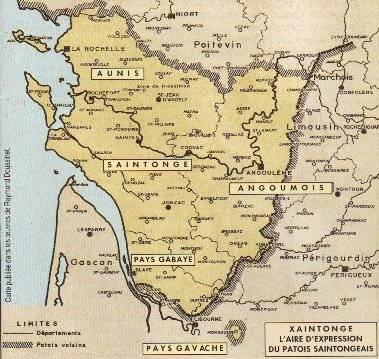 Carte établie par Raymond Doussinet