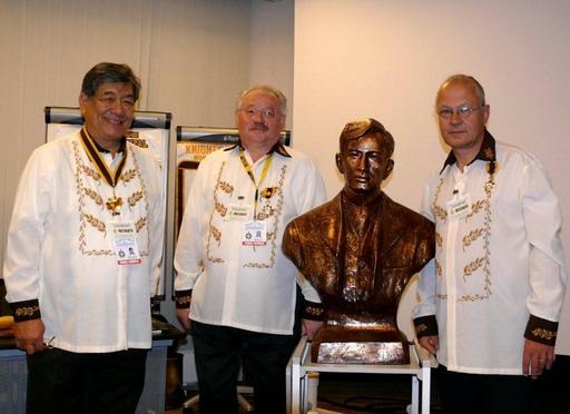 Carlos (Choy) Arnaldo, Bernard Pot, Jean-Michel Hermans