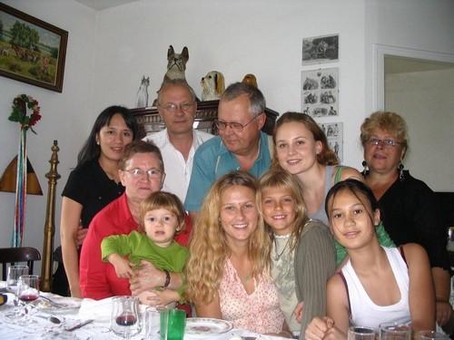Les jumeaux Hermans et leur famille