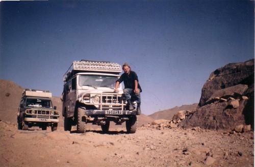Dans le Sahara algérien en 1987