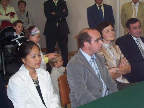 Le mariage d'Ammel et de Jean-Charles dans le Loiret en septembre 2007