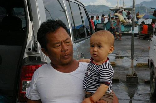 Mon beau-père et son petit-fils Tintin Petit